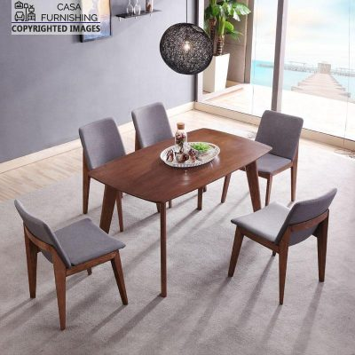 Best wooden fabricated Dining Table Chairs Set made up of sheesham wood