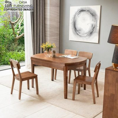 Wooden Dining Room Table and chair set
