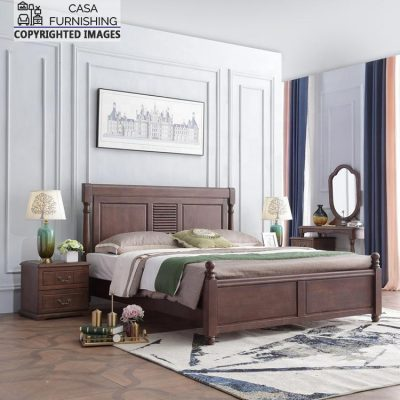 Modern Wooden Double Bed Price
