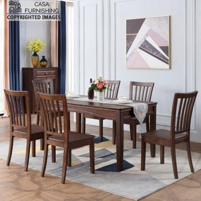 Wooden Dining Table Set design