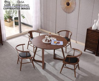 Wooden Dining Table 4 Seater design made up of sheesham wood