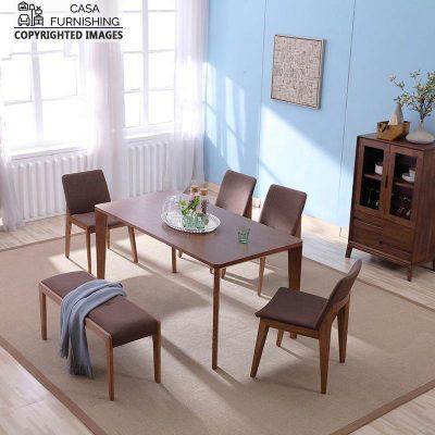Indian Sheesham Dining Table Set Latest design