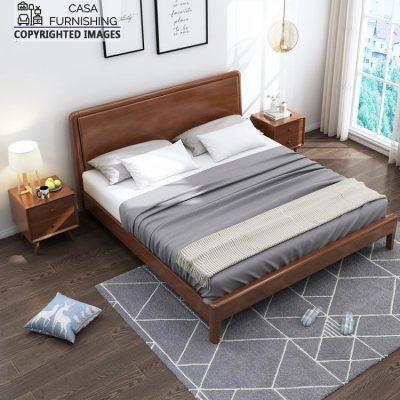 Simple Wooden bed Frame Design