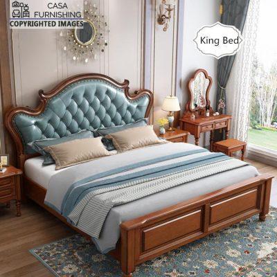 Modern Upholstered Bed Design Latest Wooden