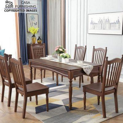 Wooden Dining Table Set Design Online